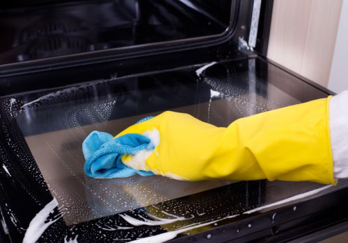 non toxic oven cleaning
