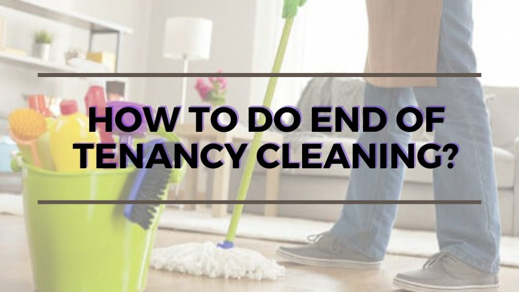 do end of tenancy cleaning