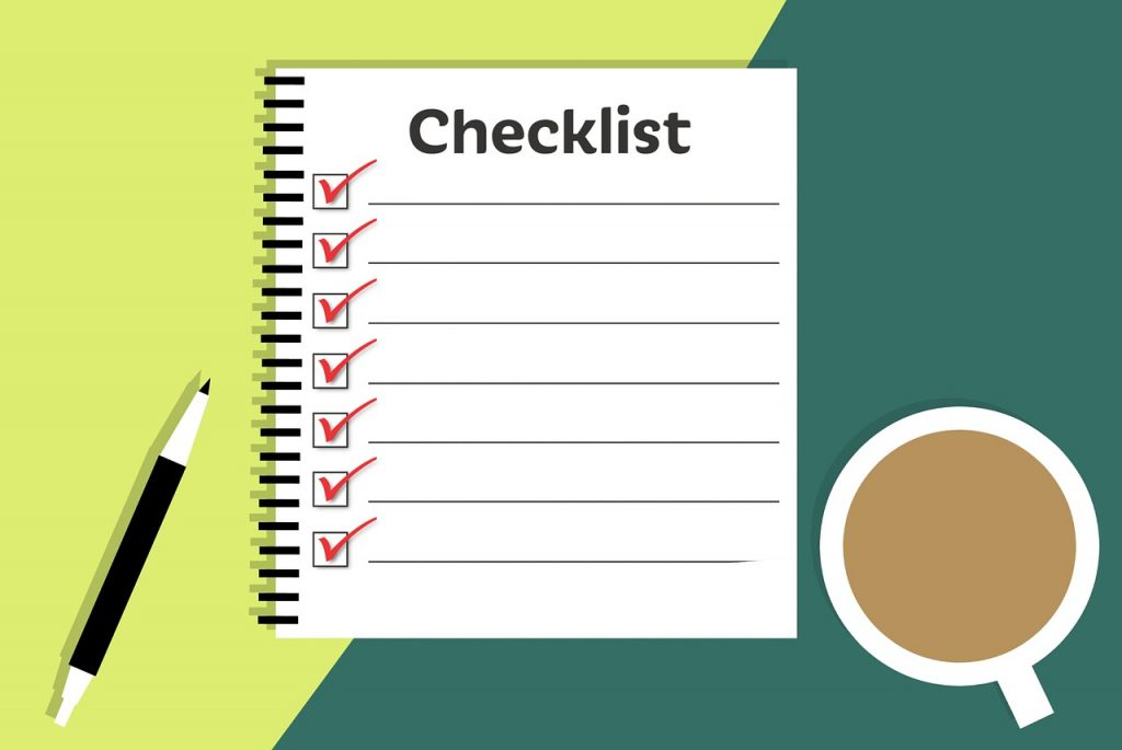 checklist, business, workplace